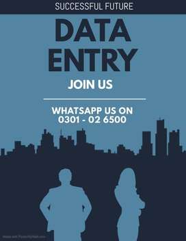 We are providing best data typing job