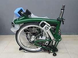 Sepeda Brompton limited edition