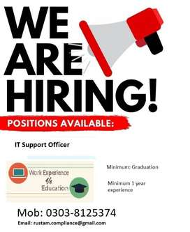 IT Support officer