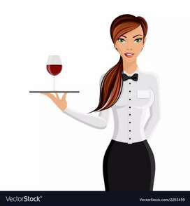 Need Female waiter for restaurant