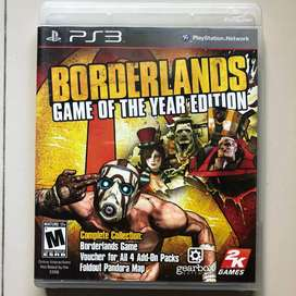 Kaset BD PS3 Borderland Game of the year edition