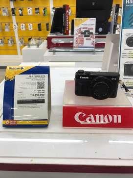 Canon Compact Camera PS-G7XMKII Cicilan Tanpa Kartu kredit