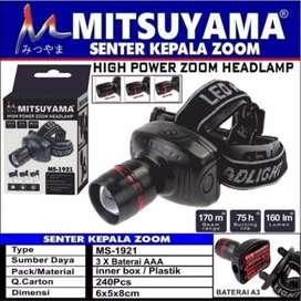 Senter kepala mitsuyama