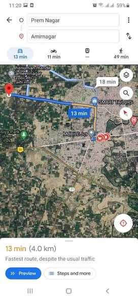 5 bigha on road plot 1.5 km from munshiganj crossing.