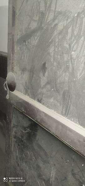 Aluminium with glass Gate
