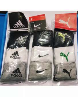 Brand Socks 100% Cotton [9Pairs]