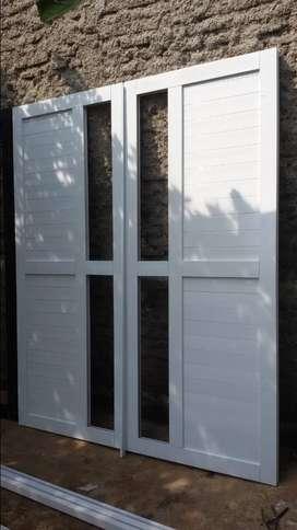 Pintu panel  kusen ALUMINIUM  ex. Trimitra
