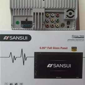DOUBLE DIN SANSUI 5202I cocok di avanza/mobilio/apv/ertiga/ayla/hiace
