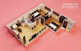 Double Bed Luxury Apartment in Bahria Town Phase 4 for Sale