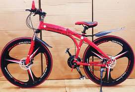 Mercedes-Benz Foldable 21 Gears Shimano Cycle & Dual Disc