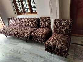 Sofaset with 2 sofa chairs