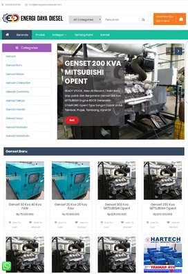 Jual Genset Murah Mesin Generator baru bekas siap pakai dan bergaransi