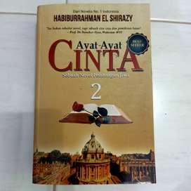 Dijual Novel Ayat-Ayat Cinta 2 Original