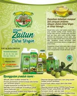Minyak Zaitun Extra Virgin dan Olive