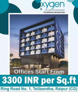 Commercial Office Space Available Near Ring Road Telibandha Raipur