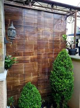 Anyaman tirei bambu wulung