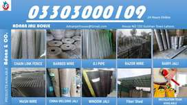 Razor wire , barbed wire , mesh wire, chain link fence, poulty jali,