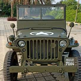 Modified Jeep Army Style Willy Jeep ready on order from punjab