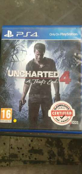 Ps4 games Uncharted4 A Thief's End