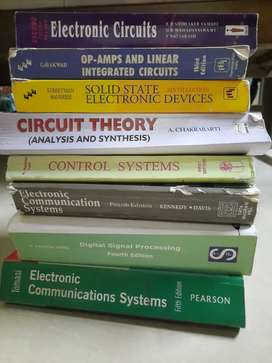 Electronics and communication Text books