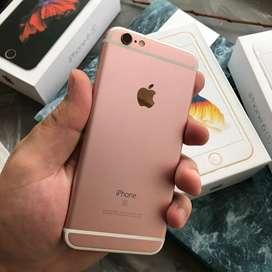 Iphone 6s 128 GB Rose gold . Fingerprint aktiif