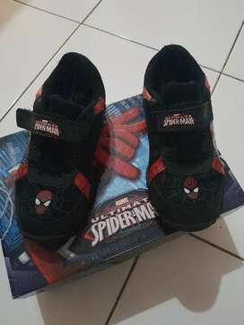 Sepatu Spiderman/Marvel uk 28 ori