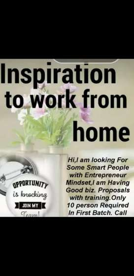 Work from home or from anywhere in comfortable timings ...