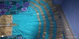 Gown with duppata