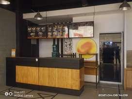 Borongan Bekas Cafe di Mall
