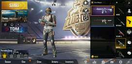 akun sultan pubg mobile m4 glacier level 4 dan uzi monster