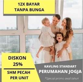 Legalitas SHM P, Bangun Rumah Hemat 300 Jt: Kavling Sleman Siap Bangun