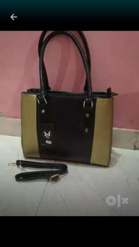 New leather look beg for ladies