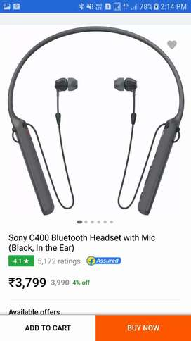Sony warles bluthooth