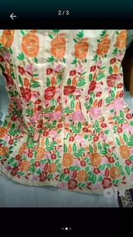 Embroidery lahenga choli