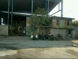 Tanah bekas bengkel /workshop/pergudangan/pabrik dupak rukun