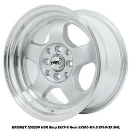 Velg Mobil Ignis, Matrix, Nissan March dll Ring 15 HSR BRISKET