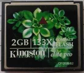 Kingston CF card (2GB)