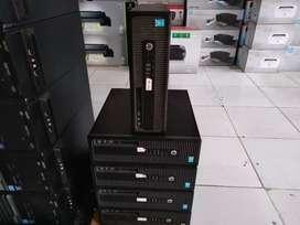 Pc komputer builtup hp i5 gen4 SSD 120GB+ hdd 500GB garansi 6 bulan
