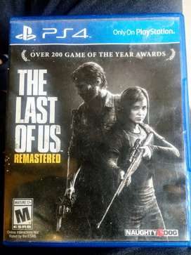 The Last Of Us Remastered PS4 Original Disc in 10/10 Condition