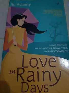 Novel islami : Love in Rainy Days (Ifa Avianty)