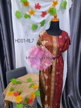 Homey dress no belt