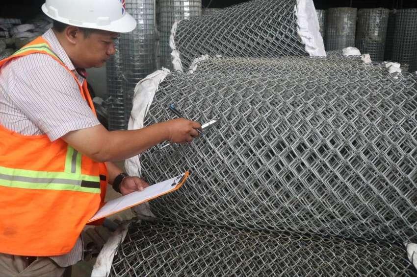 Pabrik Kawat Harmonika Galvanis Dan PVC Jakarta Timur 0