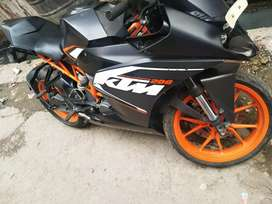 ktm rc 200 cc bike