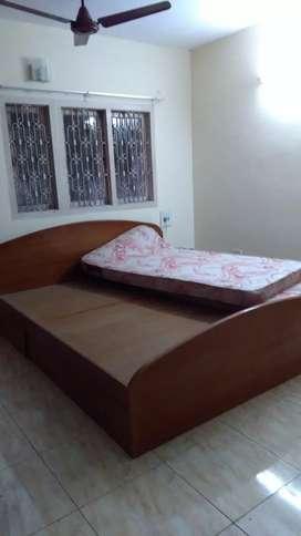 Teak wook beds & wardrobes
