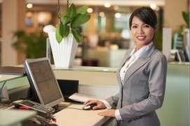 Front desk executive/Receptionist
