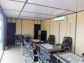 Dry Containers, Office Containers, Prefebricated structures.