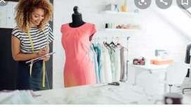 Wanted a female fashion designer