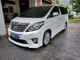 Toyota Alphard 2012 SC Premium Sound Ottoman Seat Putih Istimewa