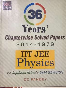 IIT JEE 36 Years solved papers