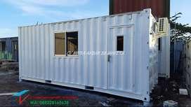 container kantor 20 feet ekstra toilet